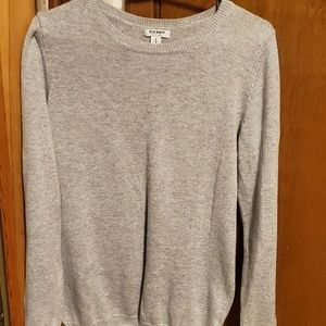 Old Navy grey sweater. Like new.  Worn 3 times.